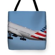 American Airlines 777-300 Tote Bag