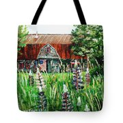 American Barn Tote Bag