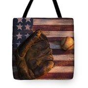 American Baseball Tote Bag