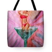 American Beauty Martini Tote Bag