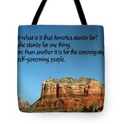 American Belief Tote Bag