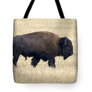 American Bison Bull Grand Teton Np Tote Bag