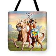 American Brave Tote Bag by Adrian Cherterman