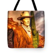 American Cinema Icons - The Duke Tote Bag