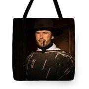 American Cinema Icons - The Man With No Name Tote Bag