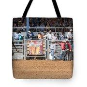 American Cowboy Bucking Rodeo Bronc Tote Bag