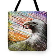 American Eagle Tote Bag by Bedros Awak