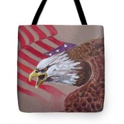 American Eagle Tote Bag by Jean Ann Curry Hess