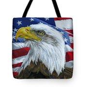 American Eagle Tote Bag by Sarah Batalka