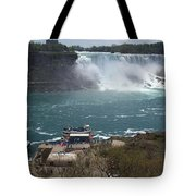 American Falls From Above The Maid Tote Bag