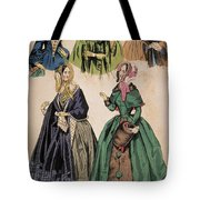 American Fashion Print Tote Bag