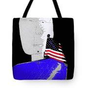 American Flag Collage Tucson Arizona Mid 1980's-2013 Tote Bag