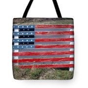 American Flag Country Style Tote Bag