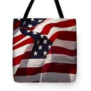 American Flags   #5147 Tote Bag