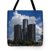 The Detroit Renaissance Center  Tote Bag