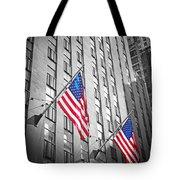 American Flags  Tote Bag