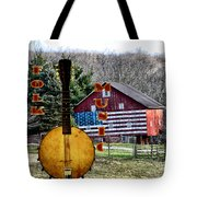American Folk Music Tote Bag