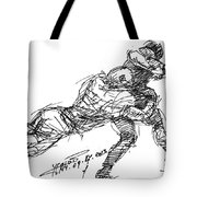 American Football 2 Tote Bag