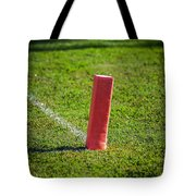 American Football Field Marker Tote Bag
