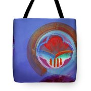 American Gothic Button Tote Bag