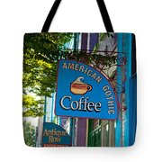 American Gothic Coffee Tote Bag