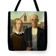 American Gothic Duvet Tote Bag