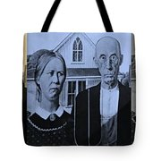 American Gothic In Colors Tote Bag