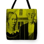 American Gothic In Yellow Tote Bag