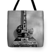 American Guitar In Black And White1 Tote Bag