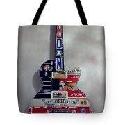 American Guitar Tote Bag