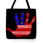 American Hand Tote Bag