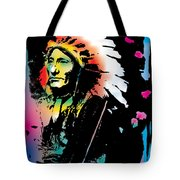 American Indian Silo Tote Bag
