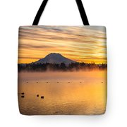 American Lake 2010 Tote Bag