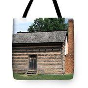 American Log Cabin Tote Bag by Frank Romeo