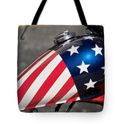 American Motorcycle Tote Bag