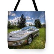 American Musclecar Firebird Tote Bag