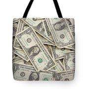 American One Dollar Bills Tote Bag
