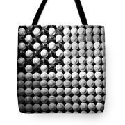 American Pastime In Black And White1 Tote Bag