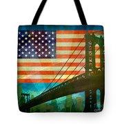 American Pride Tote Bag by Bedros Awak