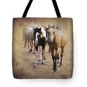 American Quarter Horse Herd Tote Bag