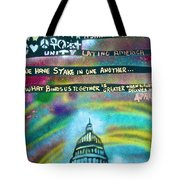 American Rainbow Tote Bag