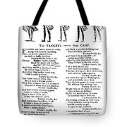 American Revolution: Song Tote Bag