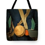 American Revolutionary Soldier Tote Bag