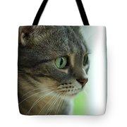 American Shorthair Cat Profile Tote Bag