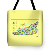 American Sign Language Baby Tote Bag