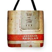 American Standard - Vintage Fuel Pump - Casper Wyoming Tote Bag