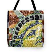 American Statue Of Liberty Mosaic  Tote Bag