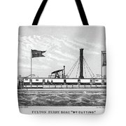 American Steamboat, 1827 Tote Bag