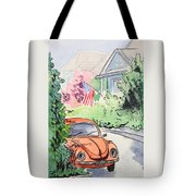 American Town Tote Bag