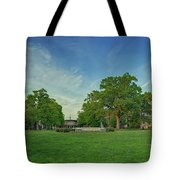 American University Quad Tote Bag
